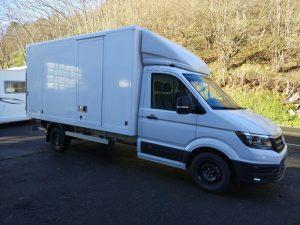 Vehículo de carga Volkswagen Crafter en alquiler