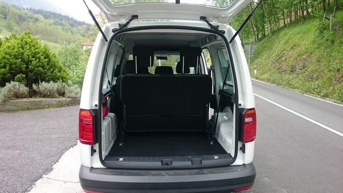 Furgoneta Volkswagen Caddy