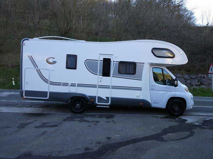 Autocaravana Giottiline Therry 45