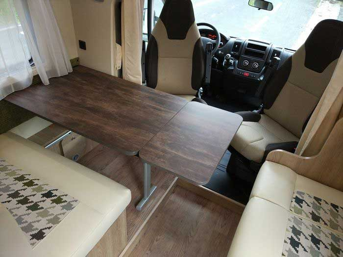 Autocaravana PLA Mister 550