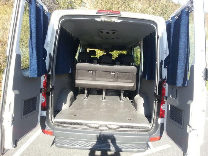 Furgoneta Volkswagen Crafter Combi
