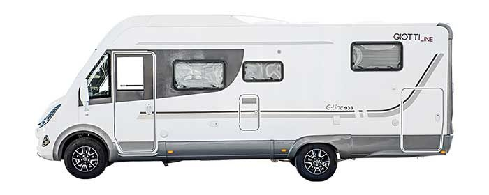 Autocaravana Giottiline G-938