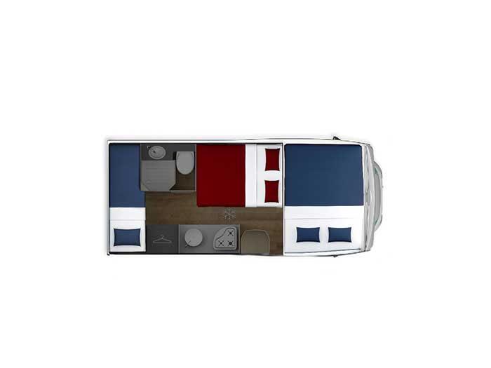 Autocaravana Giottiline Siena 430