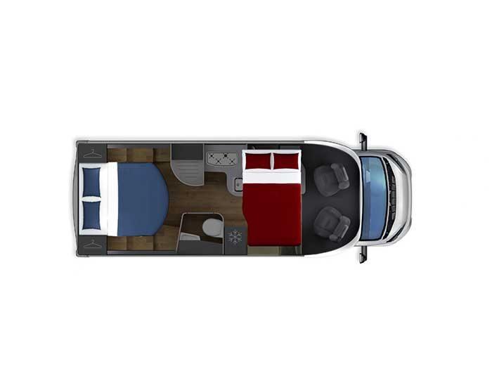 Autocaravana Giottiline Therry T34