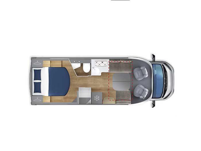 Autocaravana Giottiline Therry T38