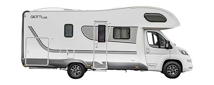 Autocaravana Giottiline Therry T45