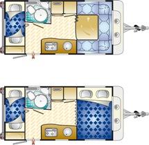 Caravana Blucamp Sky 4500