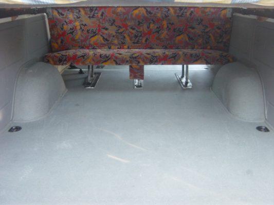 Minibús 9 plazas con literas