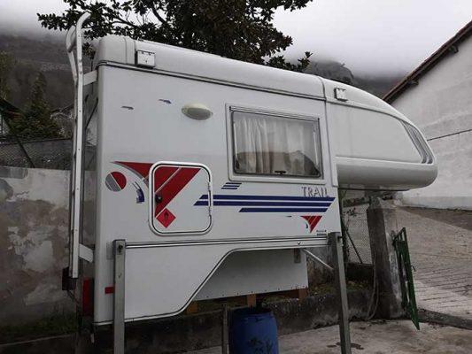 Célula Tischer Trail 200 para pick-up todoterreno