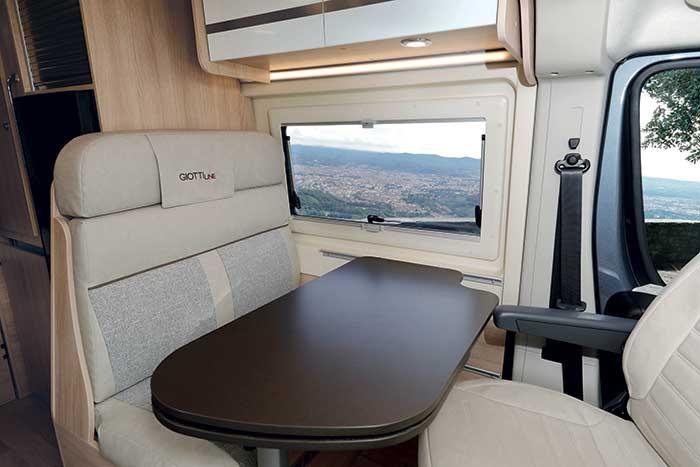 Alquiler y venta de cámper Giottivan 54T