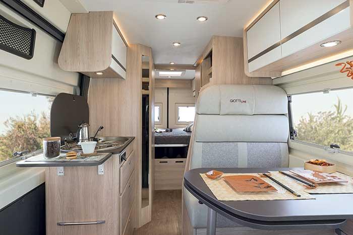 Alquiler y venta de cámper Giottivan 60T